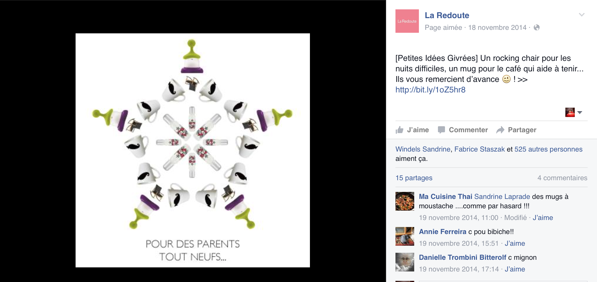 buzz la redoute facebook